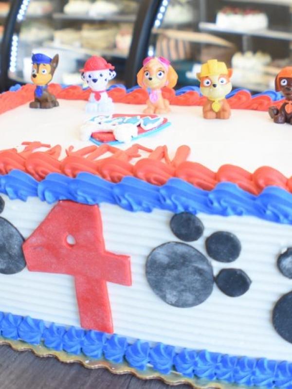 Paw Patrol Custom Cake by Goodies Bakeshop