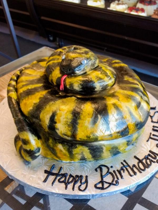 Cobra Cake by Goodies Bakeshop
